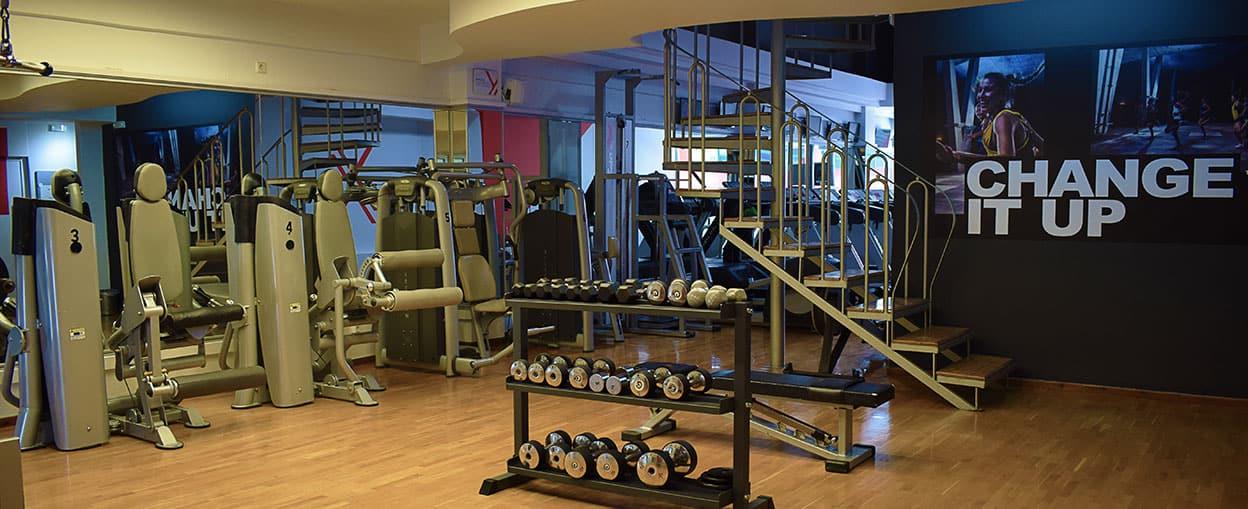 Fitness & Weights στο Γυμναστήριο