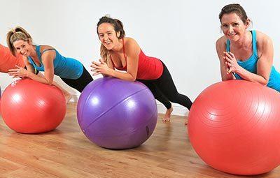 Fitball στο Gym