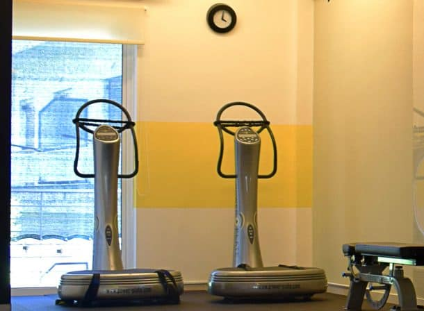 Power Plate στο Γυμναστήριο