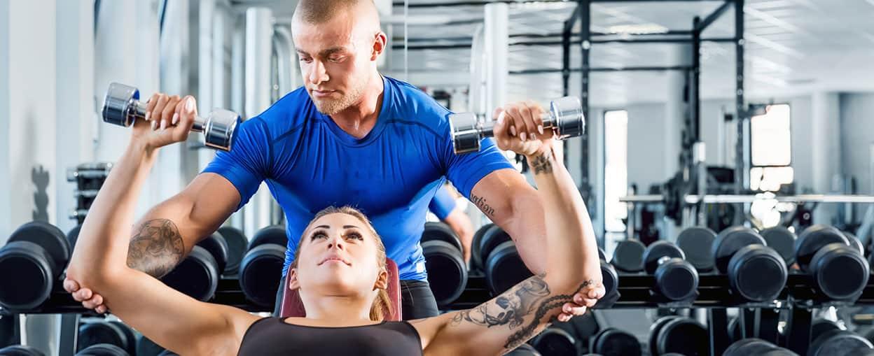 1 προς 1 Personal Training στο Nexus Gym